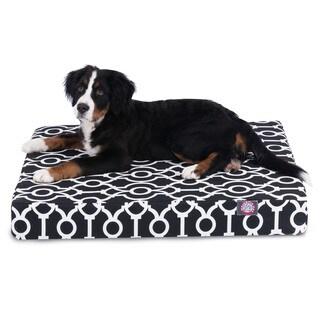 Majestic Pet Athens Small Orthopedic Memory Foam Rectangle Dog Bed