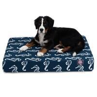 Majestic Pet Sea Horse Orthopedic Memory Foam Rectangle Dog Bed