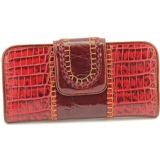 Madi Claire Women's 'Liana' Leather Handbag