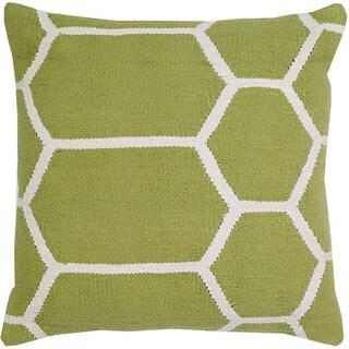 Kiwi Cotton 20-inch Square Decorative Throw Pillow