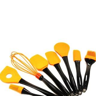 BergHoff Geminis Orange Silicone 8-piece Utensil Set