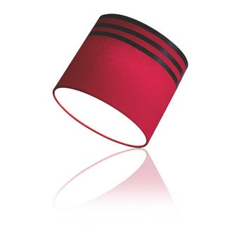 EzClipse Red Plastic/Rubber/Metal 8.5-inch x 8-inch Magnetic Drum Shade
