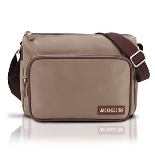 Jacki Design Essential iii Deluxe Polyester Messenger Bag
