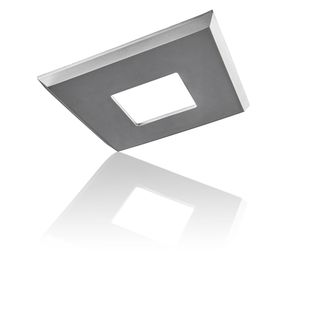 EzClipse Satin Plastic/Rubber/Metal 8-inch Square Low-profile Magnetic Shade
