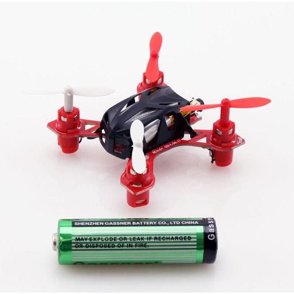 WL Toys V282 2.4Ghz 4ch Nano Skylark Black Quadcopter