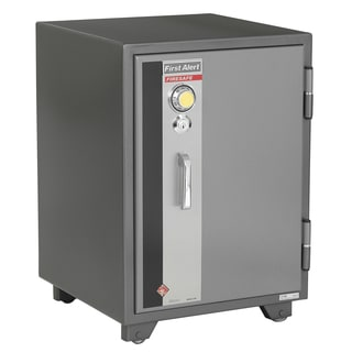 First Alert 2190F 2 Cubic Feet Gray Fire Resistant Safe With Combination Lock