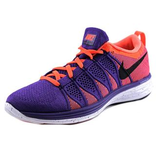 Nike Men's 'Flyknit Lunar2' Synthetic Athletic Shoes