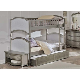 Kensington Victoria Antique White Twin-over-twin Bunk with Trundle
