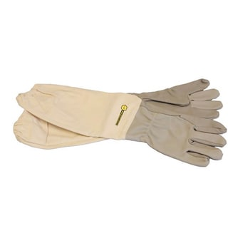 Bee Champions Children's Leather Protective Beekeeping Gloves (Pack of 3)