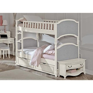 Kensington Victoria Antique White Twin-over-twin Bunk Bed with Trundle