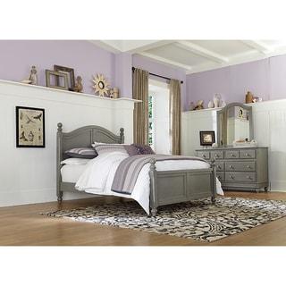 Lake House Payton Stone Grey Arched Full-size Bed