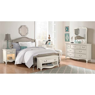 Kensington Charlotte Antique Silver Full-size Panel Bed