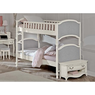 Kensington Victoria Antique White Twin-over-twin Bunk Bed