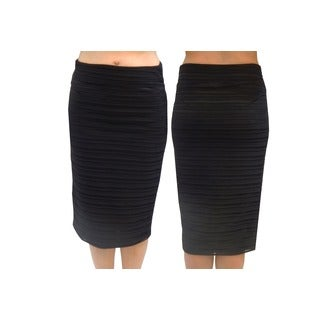 Hot Shot Hot Gal Polyester Below-the-knee Pencil Skirt