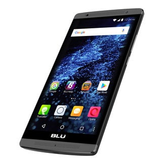 BLU Studio XL LTE S0190UU Unlocked GSM 4G LTE Quad-Core Android Phone w/ 8MP Camera - Black