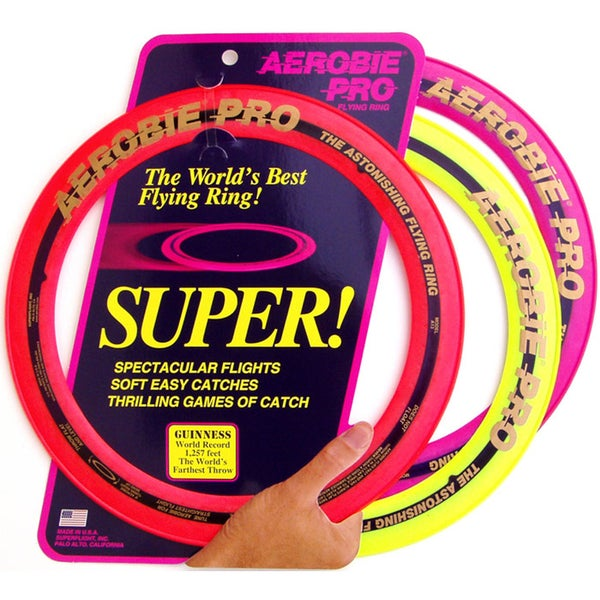 """Aerobie 1"""" Pro Flying Ring Assorted Colors"""