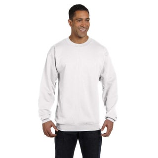 Men's Crew-Neck White Sweater (4 options available)