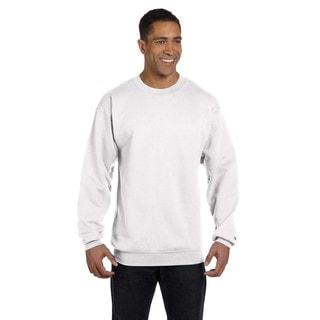 Men's Crew-Neck White Sweater