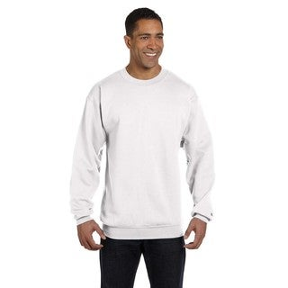 Men's Crew-Neck White Sweater