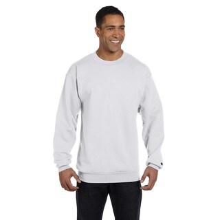 Men's Crew-Neck Silver Grey Sweater