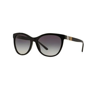 Burberry Women's BE4199F 30018G Black Plastic Square Sunglasses w/ 58mm Lens