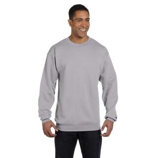 Men's Crew-Neck Light Steel Sweater