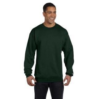 Men's Crew-Neck Dark Green Sweater
