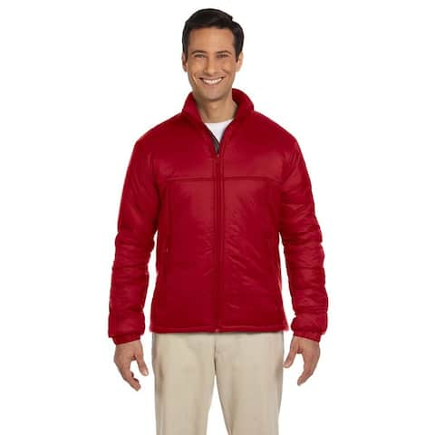 Essential Men's Polyfill Red Jacket