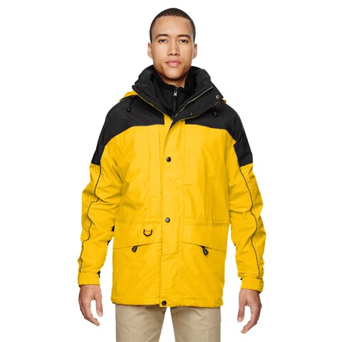 3-In-1 Men's Big and Tall Two-Tone Sun Ray 720 Parka