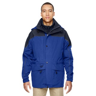 3-In-1 Men's Big and Tall Two-Tone Ryal Cobalt 714 Parka