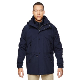 3-In-1 Men's Big and Tall With Dobby Trim Midn Navy 711 Parka