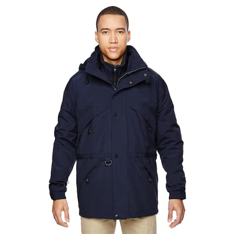 3-In-1 Men's with Dobby Trim Midn Navy 711 Parka