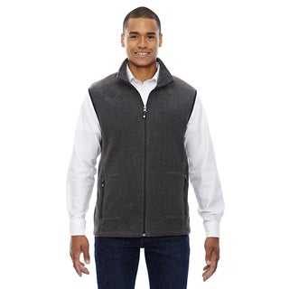 Voyage Fleece Men's Big and Tall Heather Charcoal 745 Vest