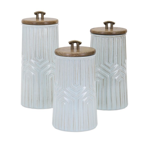 Tia Canisters (Set of 3). Opens flyout.