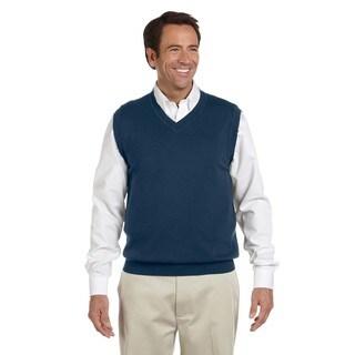 V-Neck Men's Navy Vest