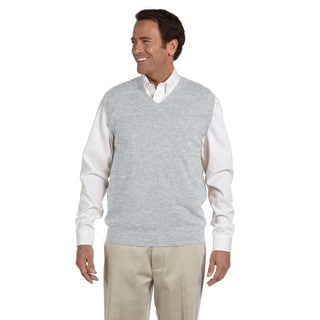 V-Neck Men's Grey Heather Vest