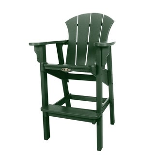 Pawley's Island Sunrise Plastic Outdoor High Dining Chair