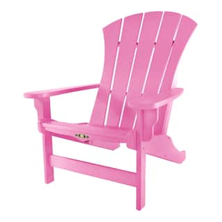 Pink Garden Furniture Pink patio furniture outdoor seating dining for less overstock pawleys island sunrise adirondack chair option pink workwithnaturefo