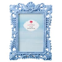 Blue Serenity Baroque 4x6 Photo Frame