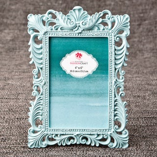 Teal 4 x 6-inch Baroque Frame