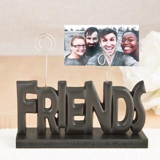 'Friends' Black Photo Holder