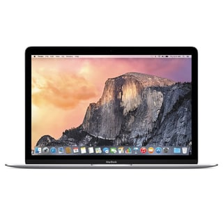 Apple Macbook 5F855LL/A 12.0-inch 256GB Intel Core M Dual-Core Laptop - Silver (Certified Refurbished)