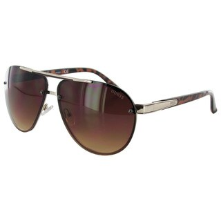 Guess Mens GF0165 Aviator Wire Frame Fashion Sunglasses