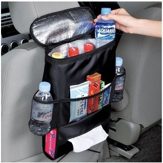 ETCBuys Car Seat Organizer Multi-Pocket Travel Storage And Insulated Cooler