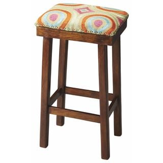 Butler Bisbee Cotton Upholstered Bar Stool