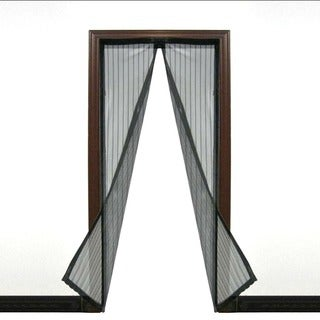 ETCBUYS Instant Open-And-Close Magnetic Sealed Lightweight Nylon Screen Door