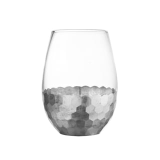 Fitz & Floyd Daphne Stemless Glasses (Pack of 4)