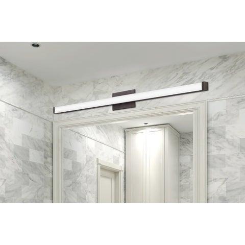 Lithonia Lighting Bronze 3K LED Flushmount Vanity Light