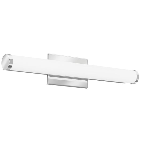 lithonia lighting contemporary cylinder 2 foot chrome led