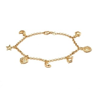 Peermont Jewelry Gold-plated Charm Bracelet